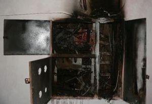 В Смоленской области из-за электрощита сгорела детская коляска