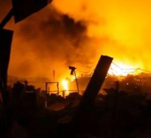 Добровольные пожарные спасли погорельца и его дом
