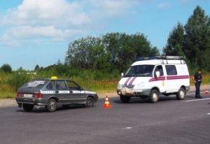 В Смоленске таксист погиб за рулем и врезался в маршрутку