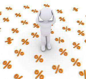 Факторы разных процентных ставок