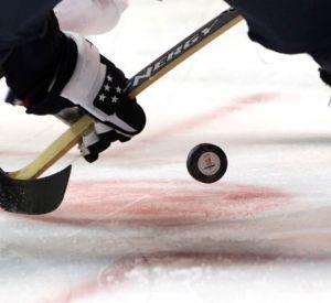 Маленькая девочка пострадала на хоккейном матче