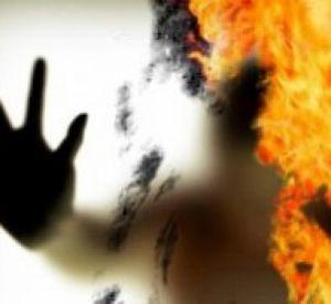 В области найдено сожженное тело женщины