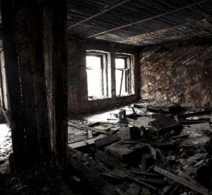 В заброшенном бараке сгорел заживо мужчина