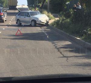 Авария на Свердлова собирает пробку (фото)