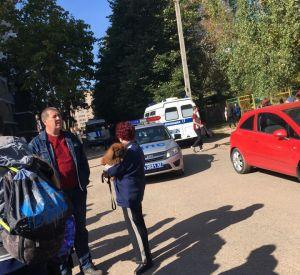 В Смоленске эвакуировали учащихся школы № 35 (фото)