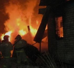 Появились подробности крупного пожара под Смоленском