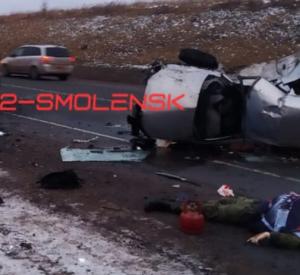 В страшной аварии на окружной погиб человек (фото)