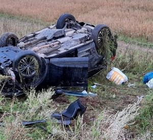 Фотографии с места смертельной аварии в Гагаринском районе попали в сеть