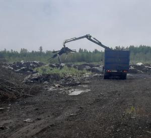 В Ярцевском районе ликвидировали несанкционированную свалку