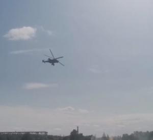 Под Смоленском замечены взрывы и скопление военной техники
