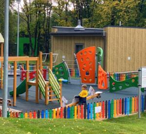 Инклюзивную площадку в парке «Соловьиная роща» озеленили (фото)