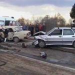 """В Смоленском районе """"пятерка"""" столкнулась с тремя автомобилями, погибли два человека"""