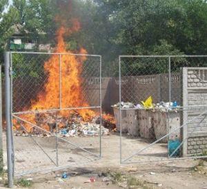 Невывоз мусора в Смоленске обернулся загрязнением воздуха