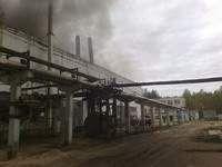 В Смоленской области произошел пожар на деревообрабатывающем комбинате