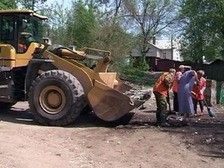 В Смоленске наступил мусорный коллапс