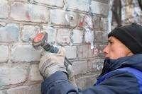 В Смоленске продолжается борьба с граффити